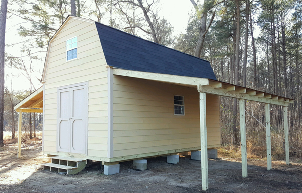 We build quality HOA approved garages and storage sheds on site in Raleigh Cary Garner Apex Knightdale Willow Spring Fuquay Varina Holly Springs ... & Shed Pictures