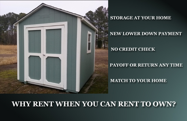 rent to own sheds garner clayton raleigh