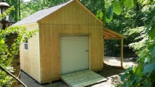 T1-11 Siding storage shed holly springs