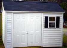 small vinyl storage sheds raleigh