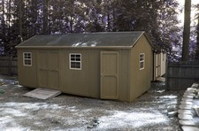 large storage sheds split by divider wall Holly Springs