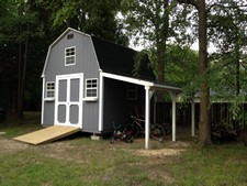 storage sheds with lean-to