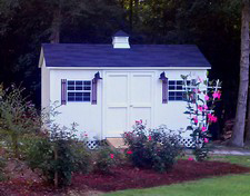 storage sheds with cupola angier